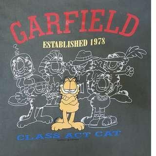 GARFIELD Vintage T-Shirt, L. (Original)