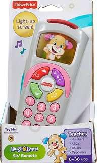 SALE! BRAND NEW Fisher-Price Laugh & Learn Sis' Remote
