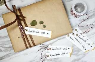 Custom Gift Tag | Premium Gift Tag | Gift Tag Calligraphy