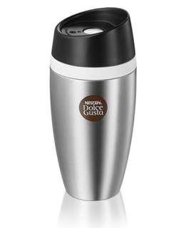 Dolce Gusto Limited Edition Thermo Travel Mug and Limited Edition Latte Macchiato Mugs