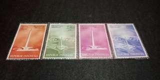 Perangko monas edisi 1965 an