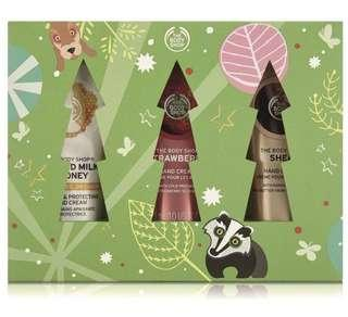 🚚 BN The Body Shop Handfuls of Happiness Gift Set Hand Cream