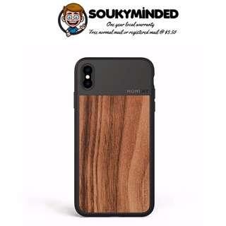 [IN-STOCK] iPhone Xs Max Case || Moment Photo Case in Walnut Wood - Thin, Protective, Wrist Strap Friendly case for Camera Lovers.