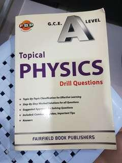 H2 Topical Physics Drill Questions