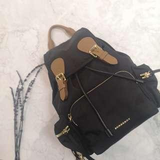 Burberry The Medium Rucksack in Technical Nylon and Leather $5600