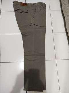 Celana Panjang Mexx Hijau Army Original