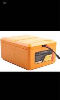 48v or 52v lipo battery (full charge 5.90