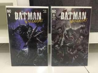 Batman Who Laughs Variant Lucia Parillo & Clayton Crain Scorpion Comics Exclusive Limited 3000 Dc Comics