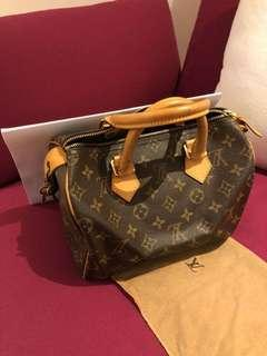 (Preowned) LV speedy monogram speedy 25