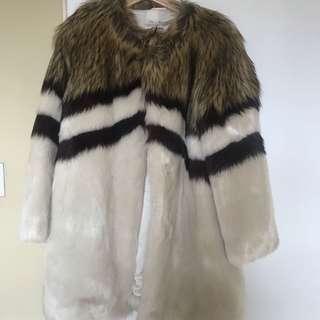 Faux Fur Coat size M Fabulous Furs