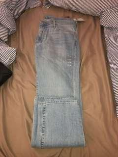 Abercrombie & Fitch Straight Jeans (Brand New Tags On) 32x30