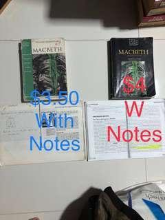 Macbeth textbook