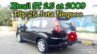 Nissan Xtrail ST 2.5 at 2009, Tdp.25 Juta Negooo, Hitam Antik Mulus ##