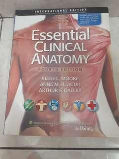 Moore's essential clinical anatomy international edition 4th edition