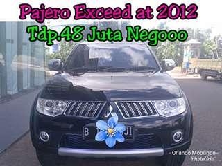 Mitsubishi Pajero Exceed at 2012, Tdp.48 Juta Negooo, Hitam Istimewa #