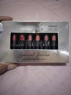 Lipstick Mini Set Mineral Botanica