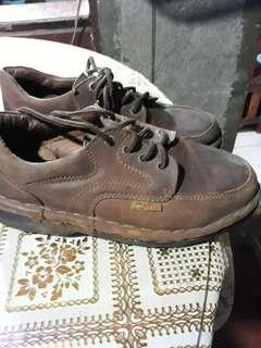 itti leather brown shoes
