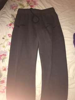 Grey lazy pants