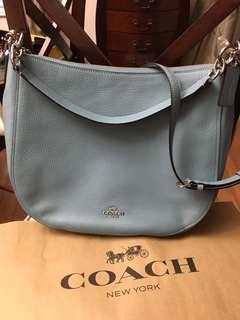 Brandnew Authentic Coach bag (Sage/Silver)