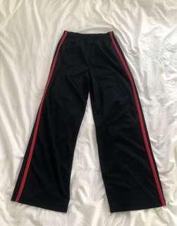 Wide-Legged Track Pants
