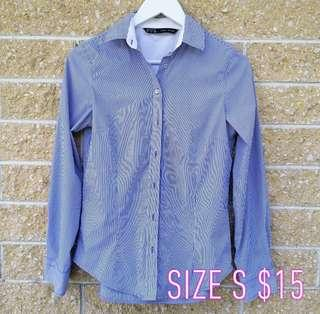 Zara blouse size S