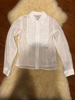 Armani junior girls shirt