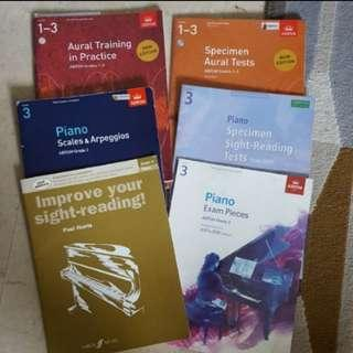 Piano Books abrsm aural sight reading