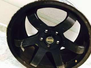 "Original Rays Rim 18"" 5x144.3 without tyres"