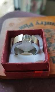 Unisex Stainless Steel Ring size 11
