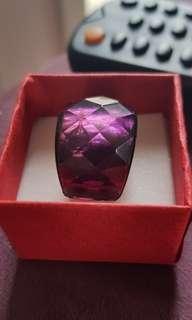 big purple ring size 12