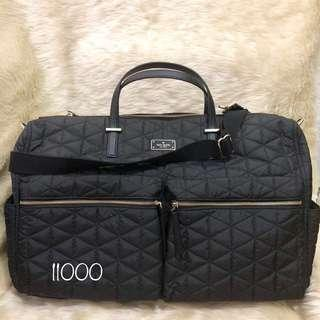 ORIGINAL kate spade quilted overnight bag