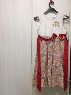 Pretty colourful dress