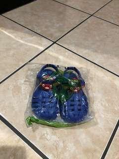 Sandal Tayo Biru