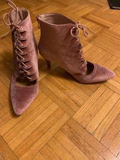 Unique rose heels