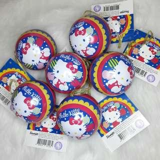 Hello Kitty Gummies in Christmas Balls