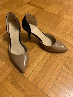 Two tone heels