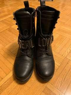 Real love combat boots