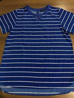 Blue stripes Blouse