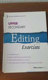 Upper Secondary Editing Exercises