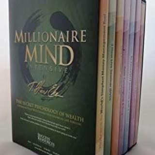 The Millionaire Mind Intensive the Secret of Psychology of Wealth DVD/CD boxset