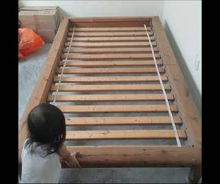 IKEA single bed with slated base sultan #BFhome