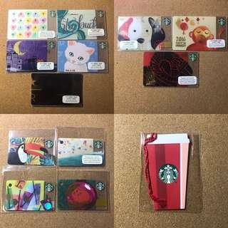 🚚 Singapore Starbucks Cards