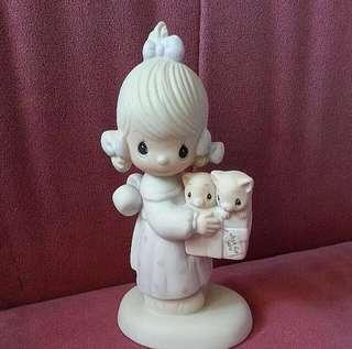 Precious Moments Girl Figurine : To Thee with Love E3120