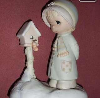 Precious Moments Girl Figurine : Blessings From My House To Yours E0503