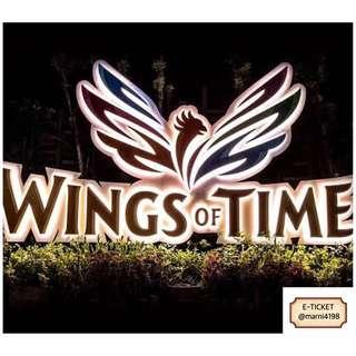 Wings Of Time Etickets (Fixed Date & Time)
