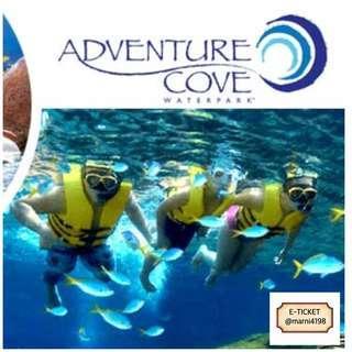 Adventure Cove Waterpark Etickets