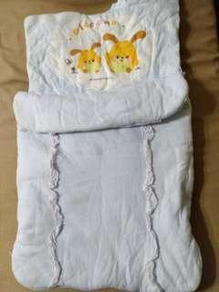 嬰兒 睡袋 包巾 被毯