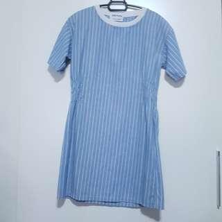🚚 Blue Stripe Dress