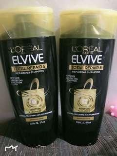 Authentic L'oreal Elvive Shampoo 375ml