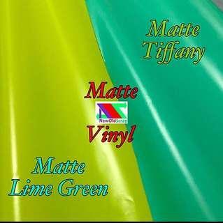 Matte vinyl sticker wraps